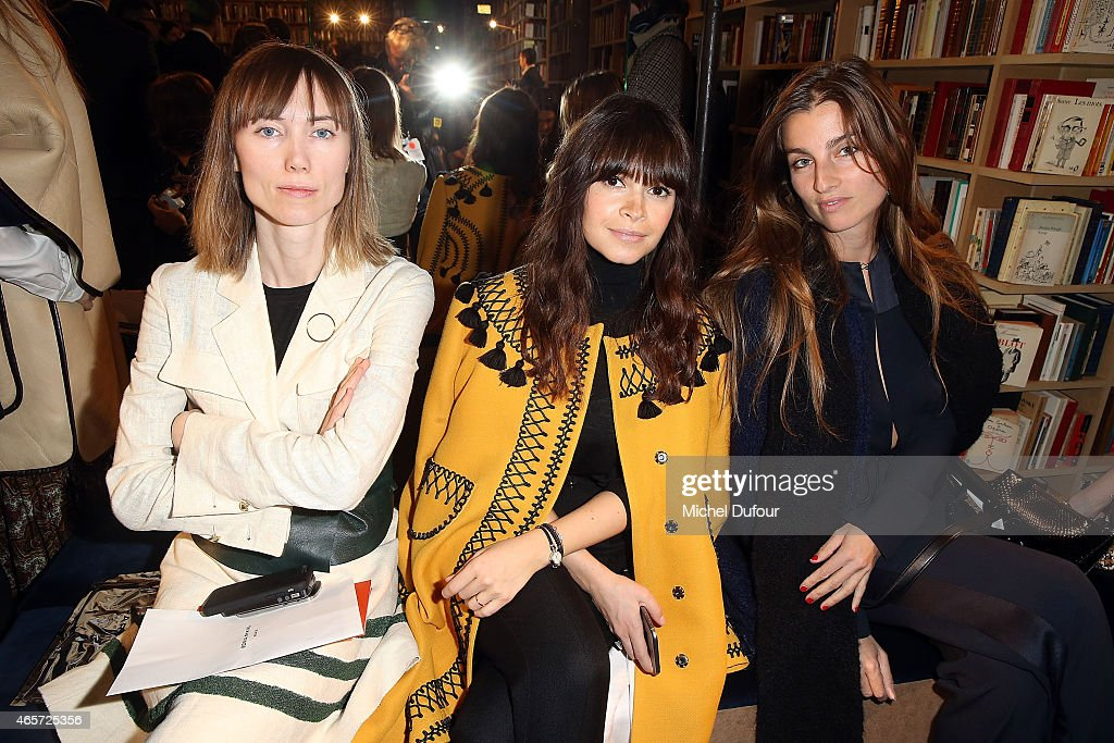 Sonia Rykiel : Front Row - Paris Fashion Week Womenswear Fall/Winter 2015/2016
