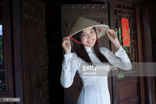 Ao Dai Viet Nam and a beautiful smile