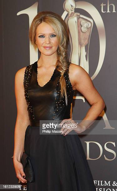 Aoibhin Garrihy attends the Irish Film and Television Awards at the Convention Centre Dublin on February 9 2013 in Dublin Ireland