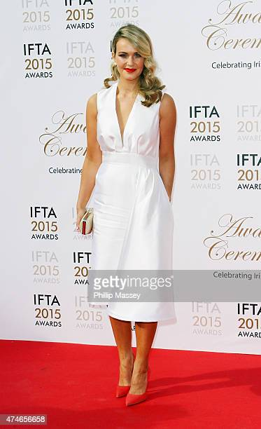 Aoibhin Garrihy attends the Irish Film And Television Awards on May 24 2015 in Dublin Ireland