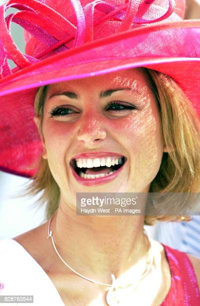 Aoife Mulholland representing Galway in the 2003 Rose of Tralee International Festival at a photo opportunity in Dublin Ireland where the 26 Roses...