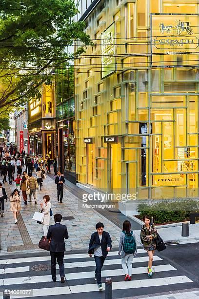 Aoyama, shopping at Omotesando