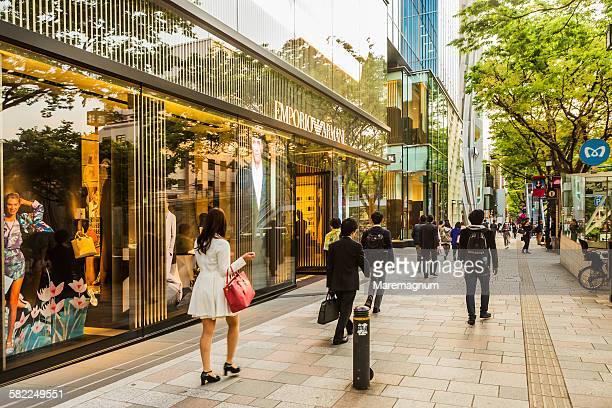 Aoyama, shopping in Omotesando