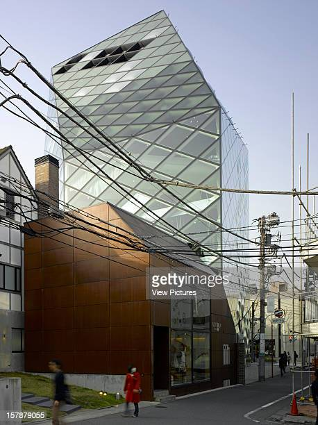 AoyamaJapan Architect Tokyo Prada Store Tokyo View From Side Street