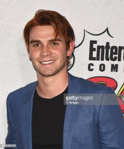 J Apa attends Entertainment Weekly's annual ComicCon party in celebration of ComicCon 2017 at Float at Hard Rock Hotel San Diego on July 22 2017 in...
