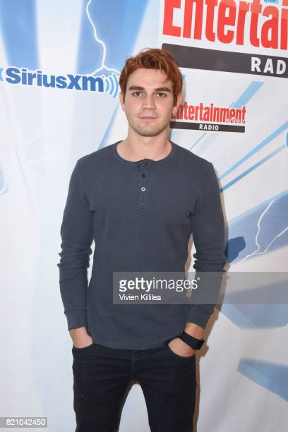 Apa attends SiriusXM's Entertainment Weekly Radio Channel Broadcasts From Comic Con 2017 at Hard Rock Hotel San Diego on July 22 2017 in San Diego...