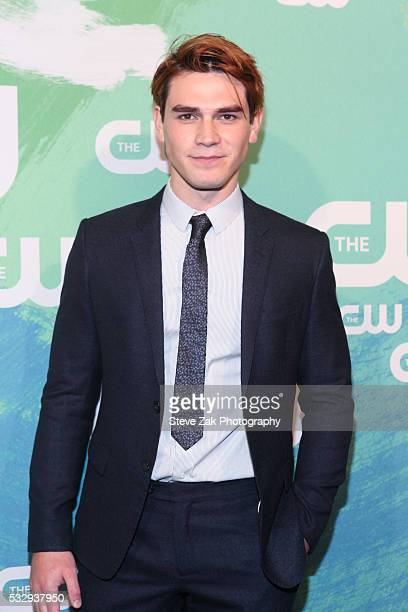 Apa attends The CW Network's 2016 New York Upfront at The London Hotel on May 19 2016 in New York City