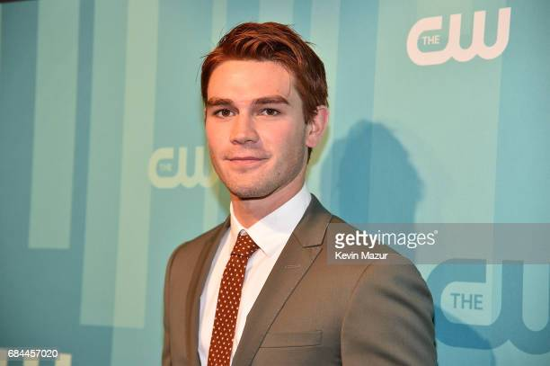 Apa attends The CW Network's 2017 Upfront at The London Hotel on May 18 2017 in New York City