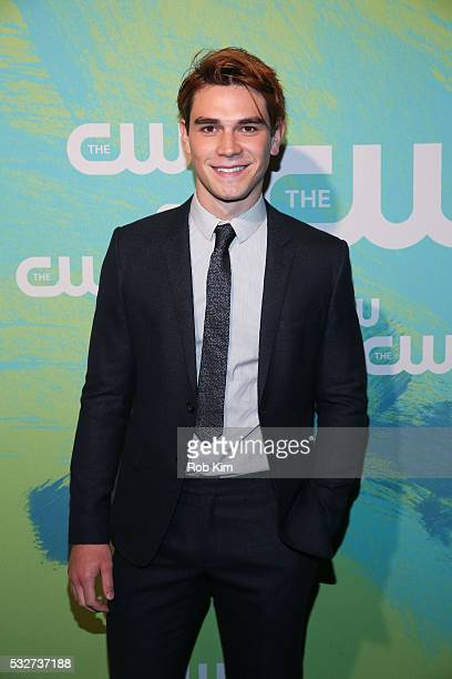 Apa of the series 'Riverdale' attends The CW Network's 2016 New York Upfront Presentation at The London Hotel on May 19 2016 in New York City