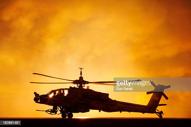 AH-64A Apache helicopter