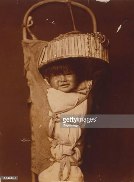 Apache infant in cradleboard