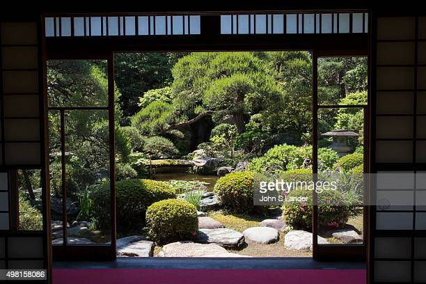 Apart from its teahouse the main attraction at Yamamototei is its pond garden It is the showpiece of the teahouse from which it can be viewed from...