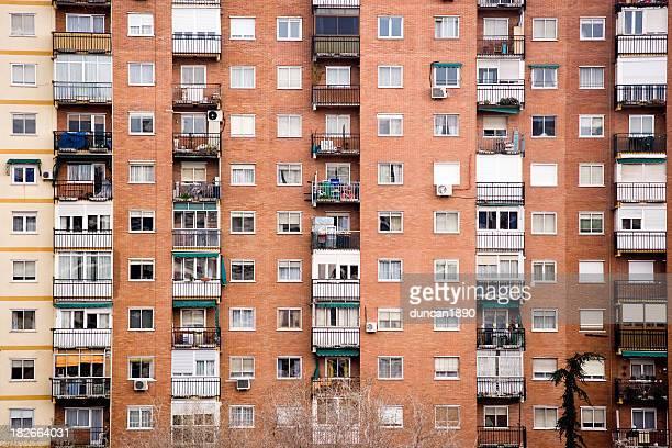 アパートメントブロック