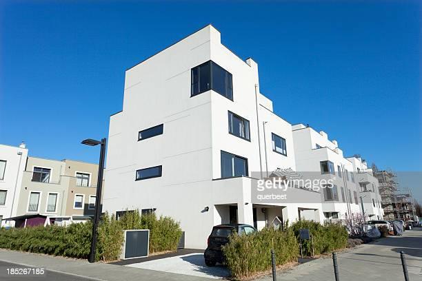 アパートメントのブロック