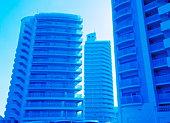 Apartment building in Wakayama, Japan