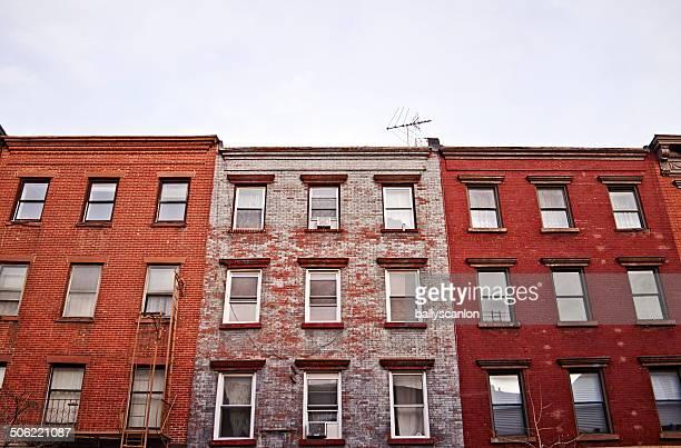 Apartment Buildings In New York.