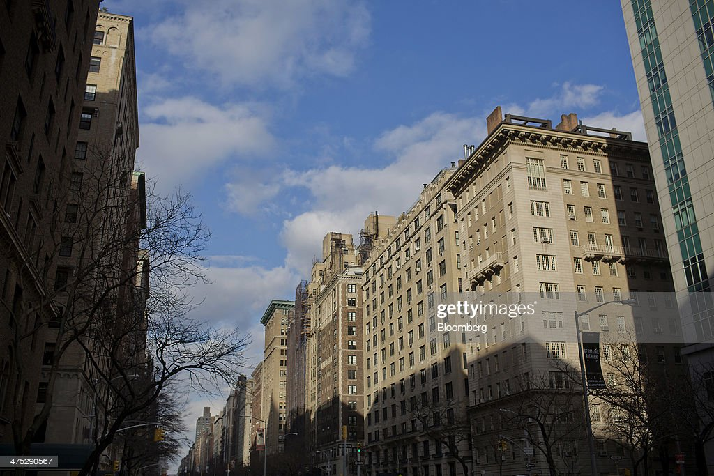 Apartment buildings stand on the Upper East Side neighborhood of New York, U.S., on Tuesday, Feb. 25, 2014. Home prices in the U.S. climbed at a slower pace in the year through December, pointing to a moderation in the market that will help keep more properties within reach for prospective buyers. Photograph: Victor J. Blue/Bloomberg via Getty Images