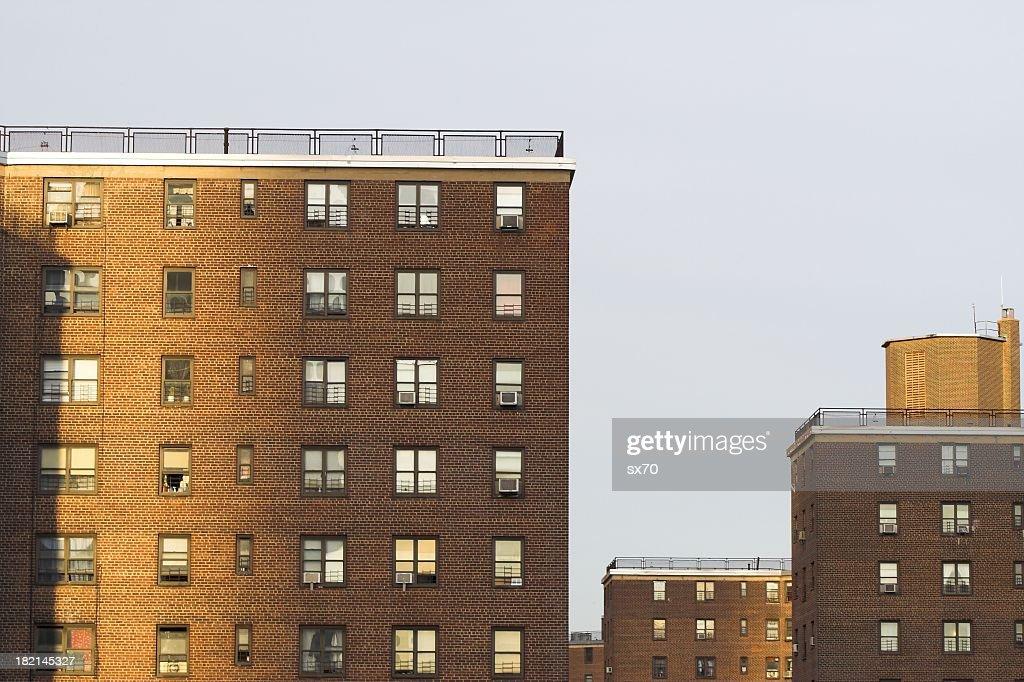 Apartment complexes.