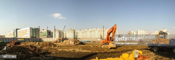 Apartment Construction Panorama