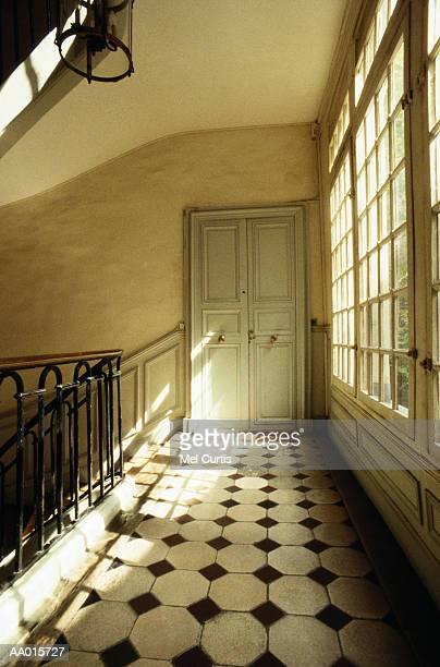 Apartment Door Off a Stair Landing