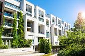 Apartment houses