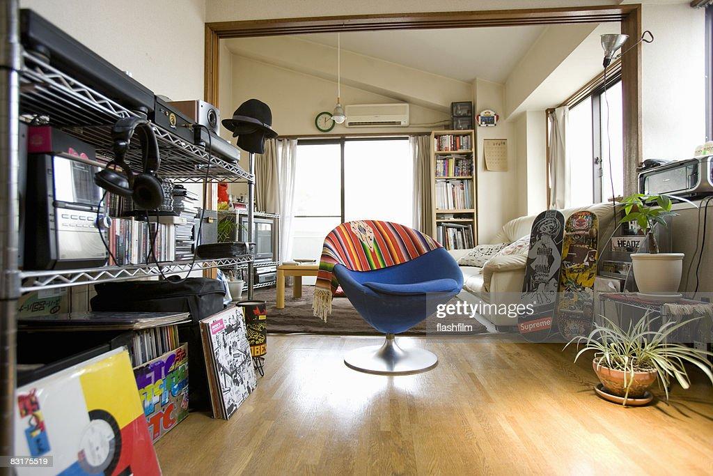 Apartment of Japanese man