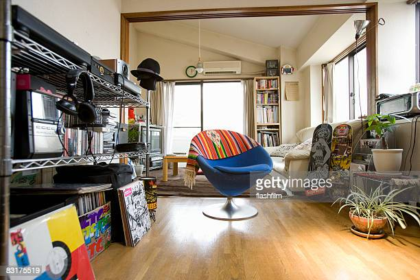 Apartment of Japanese man