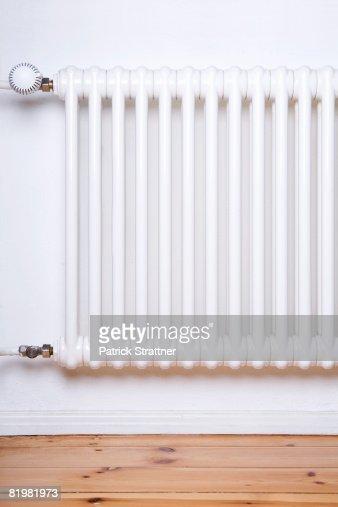 Apartment radiator, close up
