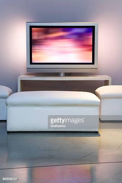 Apartment mit Plasma-Fernseher