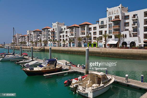 Apartments at Agadir Marina, Morocco