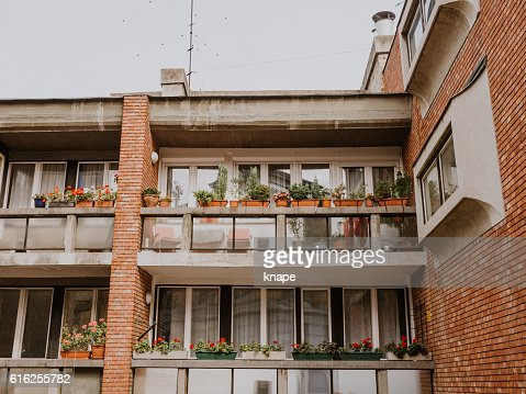 Apartments in Budabest : Stock Photo