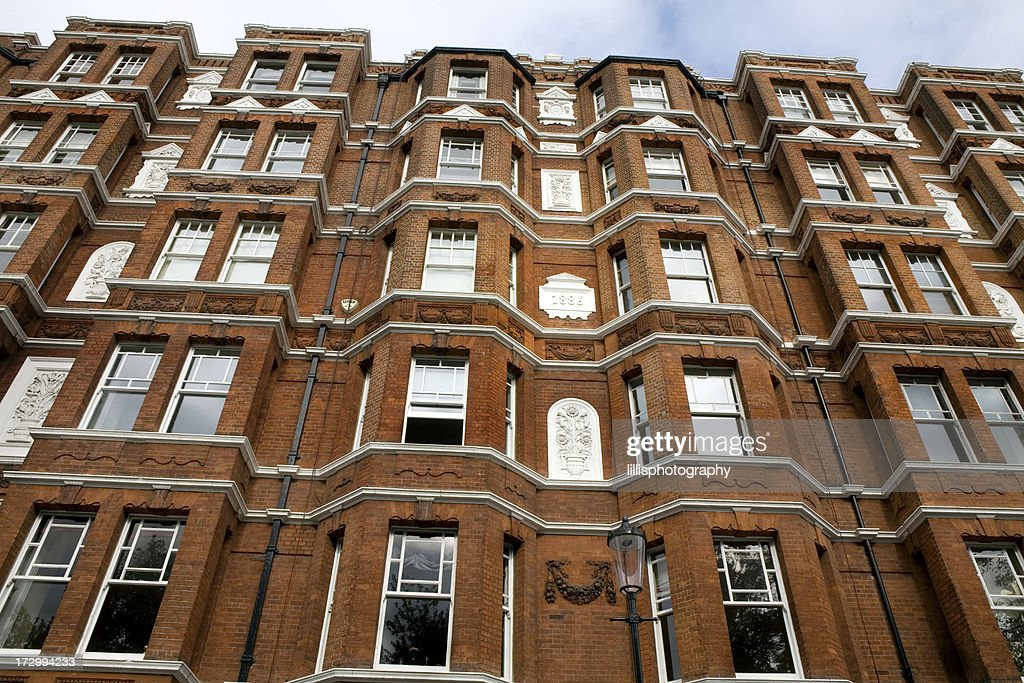 Apartments In Chelsea Area Of London : Stock Photo
