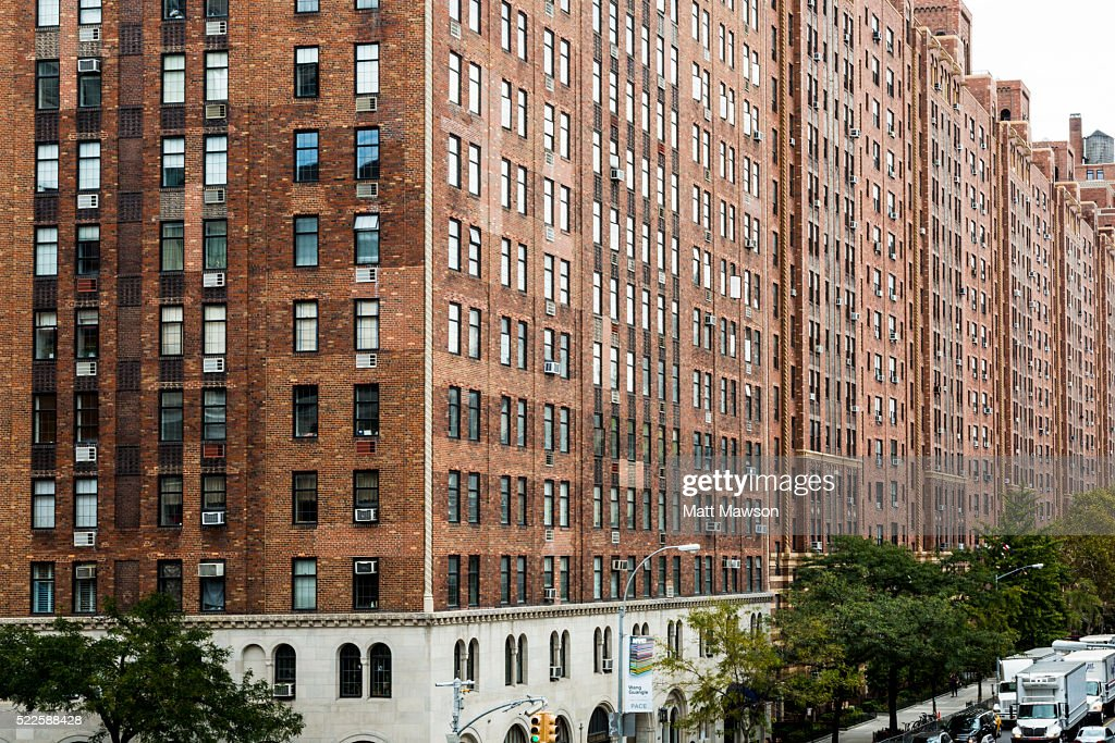 Apartments In Chelsea Manhattan New York City Stock Photo | Getty Images