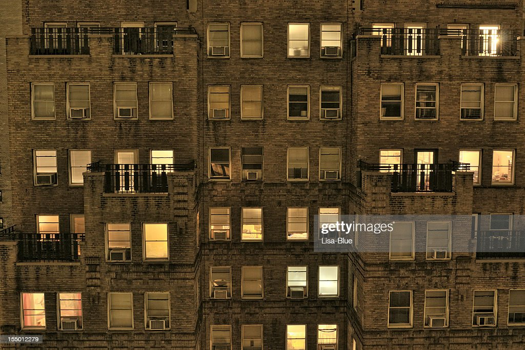 Apartments in the Night.NYC
