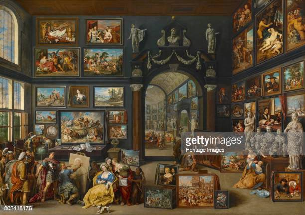 Apelles Painting Campaspe c1630 Found in the collection of The Mauritshuis The Hague