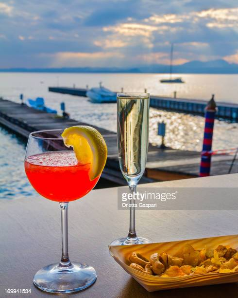 Aperitif on the lake