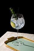 Gin tonic, an international cocktail