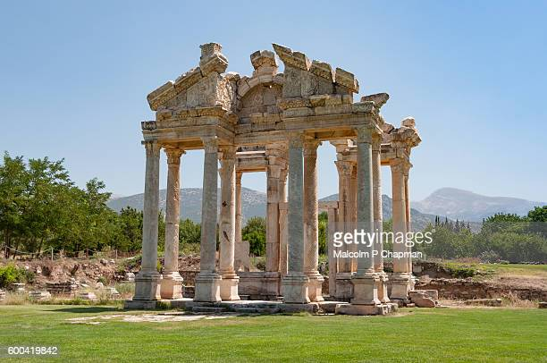 Aphrodisias - Tetrapylon, gateway to Temple of Aphrodite, Turkey