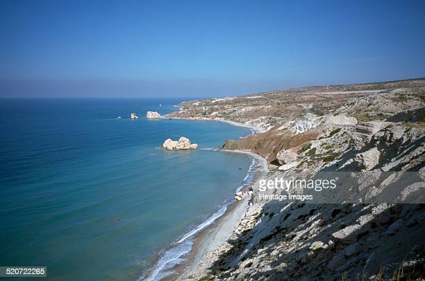 Aphrodite's Rock Paphos Cyprus 2001 Paphos is the mythical birthplace of Aphrodite the Greek goddess of love