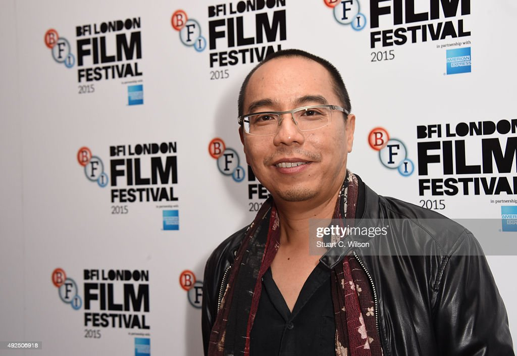 Apichatpong Weerasethakul attends the 'Cemetery Of Splendour' screening during the BFI London Film Festival at Vue Leicester Square on October 13, 2015 in London, England.