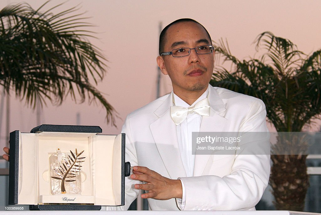 Apichatpong Weerasethakul attends the Palme d'Or Award Ceremony Photo Call held at the Palais des Festivals during the 63rd Annual International Cannes Film Festival on May 23, 2010 in Cannes, France.