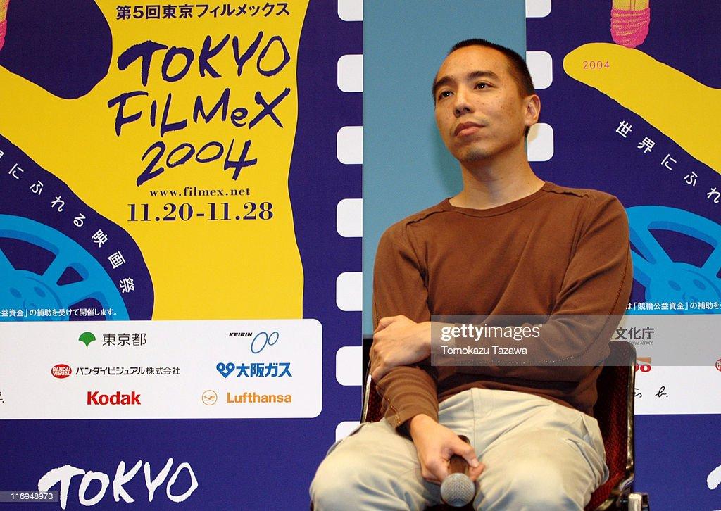 Apichatpong Weerasethakul, director during Tokyo Filmex 2004 - 'Tropical Malady' Screening at Yurakucho Asahi Hall in Tokyo, Japan.