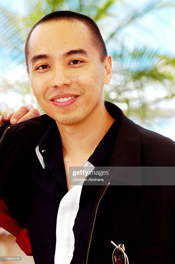 Apichatpong Weerasethakul during 2004 Cannes Film Festival - 'Tropical Malady' - Photocall at Palais Du Festival in Cannes, France.