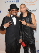 Apldeap and Taboo of the Black Eye Peas attend the Happy Hearts Fund Gala with Chopard 10 year anniversary of the Indian Ocean tsunami tribute at...