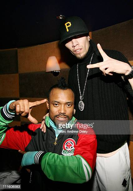 apldeap and Taboo of the Black Eyed Peas ** EXCLUSIVE COVERAGE **