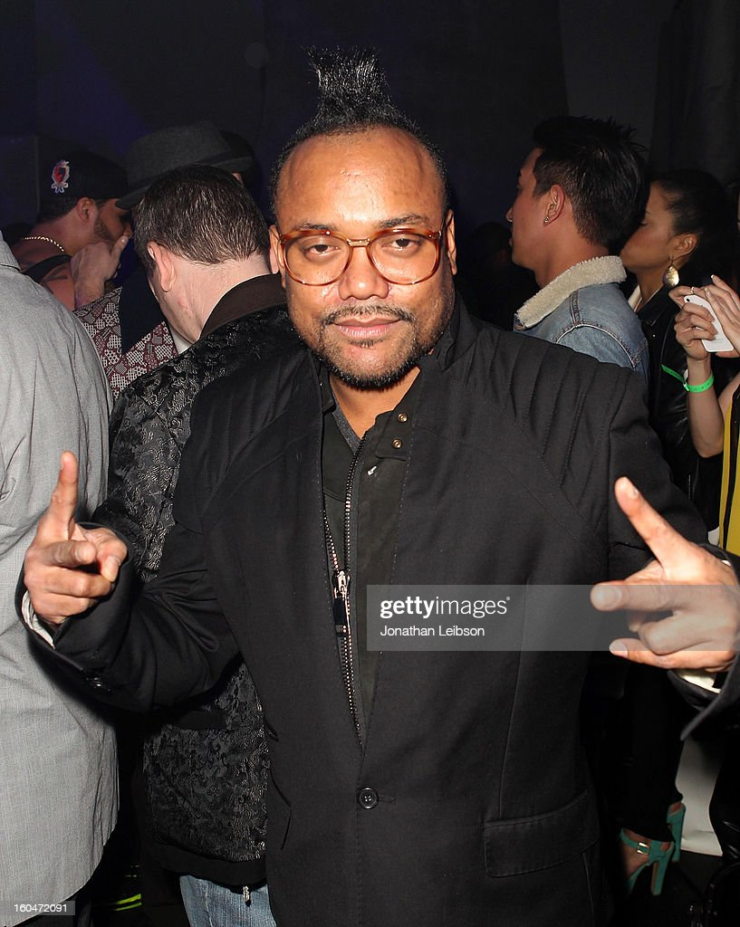 apl.de.ap at the SkyBlu 'Pop Bottles' Single Release Party at Lure on January 31, 2013 in Hollywood, California.