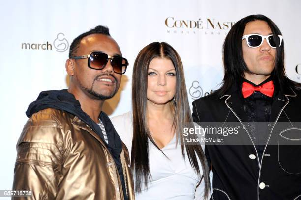 apldeap Fergie Taboo and attend 34th Annual MARCH OF DIMES BEAUTY BALL at Cipriani 42nd Street on March 12 2009 in New York City