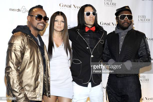 apldeap Fergie Taboo william and attend 34th Annual MARCH OF DIMES BEAUTY BALL at Cipriani 42nd Street on March 12 2009 in New York City