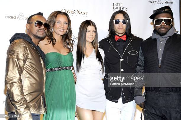apldeap Vanessa Williams Fergie Taboo william and attend 34th Annual MARCH OF DIMES BEAUTY BALL at Cipriani 42nd Street on March 12 2009 in New York...