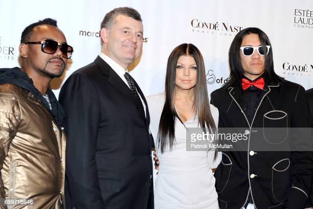 apldeap William P Lauder Fergie Taboo and attend 34th Annual MARCH OF DIMES BEAUTY BALL at Cipriani 42nd Street on March 12 2009 in New York City